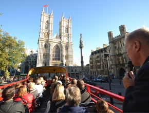 Open Top London Double Decker Bus Tour (AM)