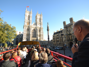 Open Top London Double Decker Bus Tour (PM)