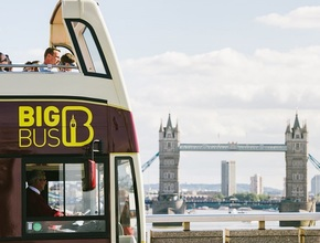Big Bus London hop-on, hop-off