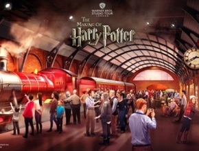 Warner Bros. Studio Tour London – The Making of Harry Potter (9.15 dep.)