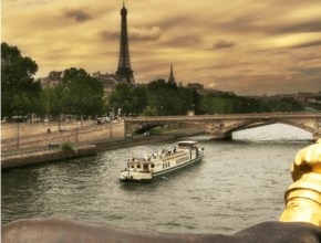 Luxury Escorted Paris Day Trip with Bateaux Parisiens lunch cruise
